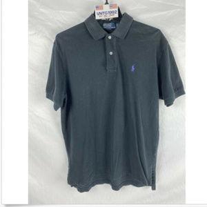 Polo Ralph Lauren Black Short Sleeve Polo Shirt